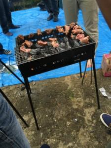 2014/9/27(土) BBQ餃子カルド